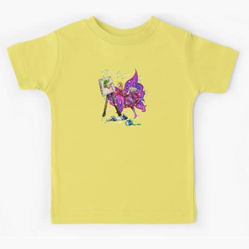 tianna the t shirt fairy kid tshirt