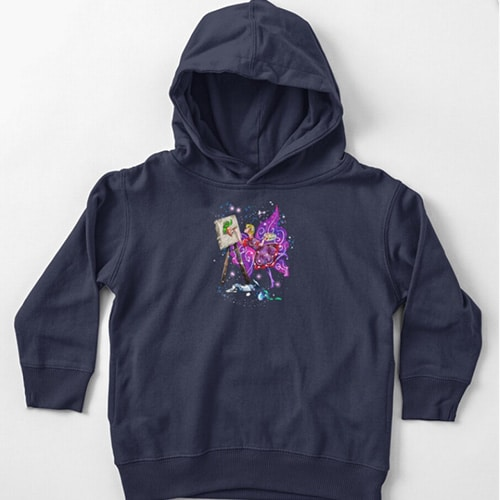 tianna the t shirt fairy baby hoodie