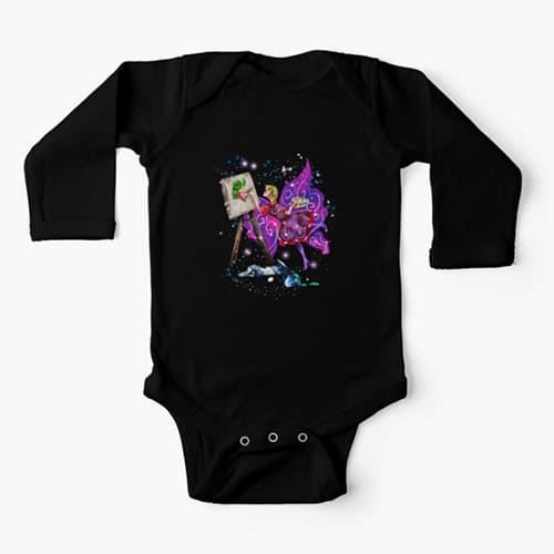 tianna the t shirt fairy baby onesis
