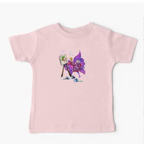tianna the t shirt fairy baby tshirt