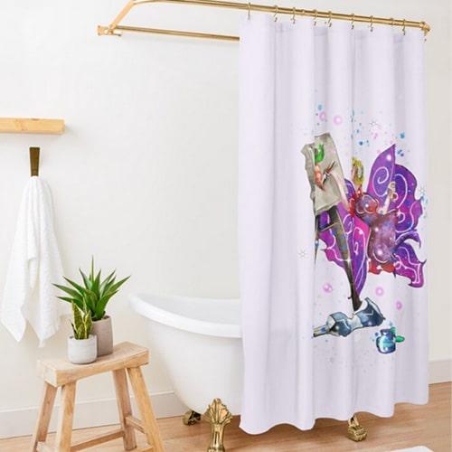 tianna the t shirt fairy curtain