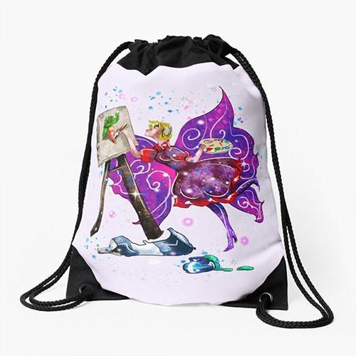 tianna the t shirt fairy stringbag