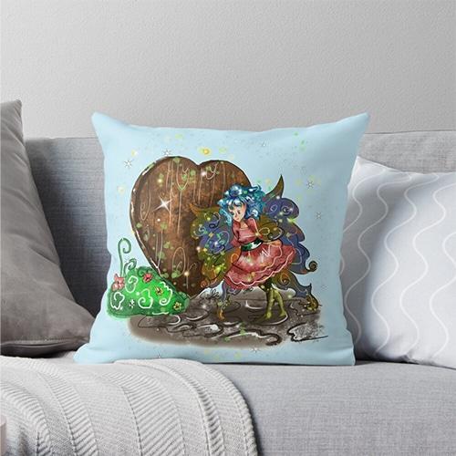 doharn pip throw pillow