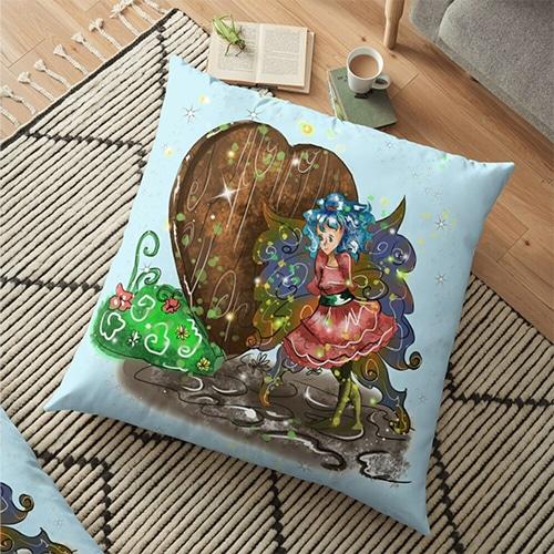 doharn pip floor pillow