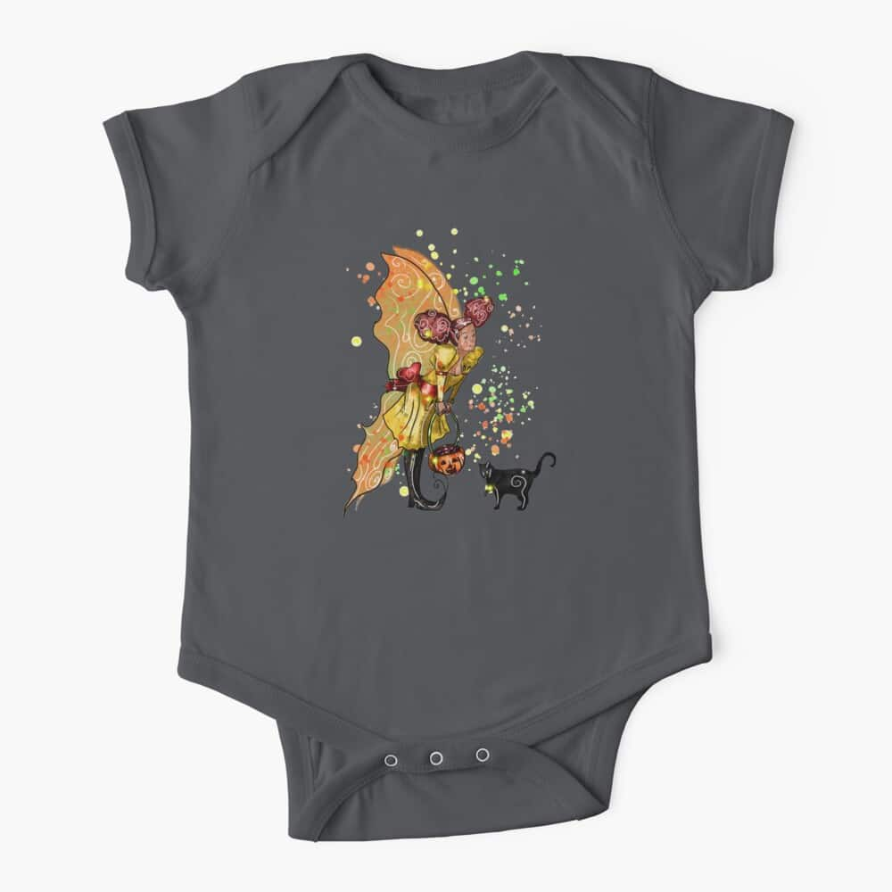 fairy trixie love the trick or treat fairy™ baby one piece
