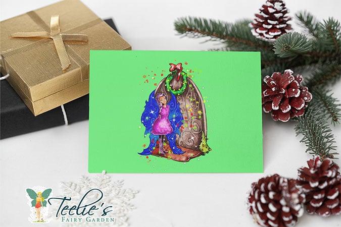 hollydays shimmer the seasonal door fairy slider (4)