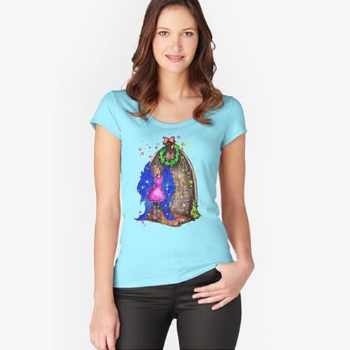 hollydays shimmer tshirt