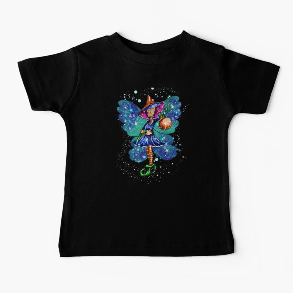 issy the halloween party fairy™ baby t shirt