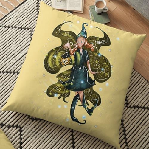 leandra floor pillow