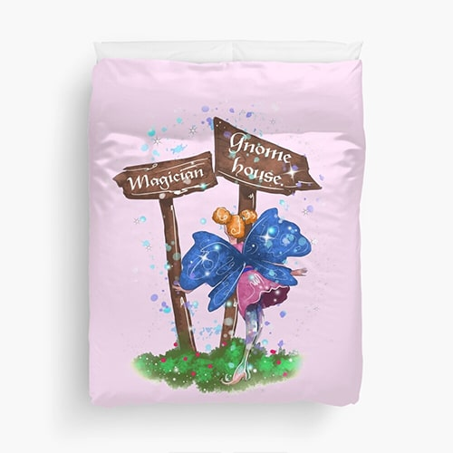 lilli fairy duvet cover