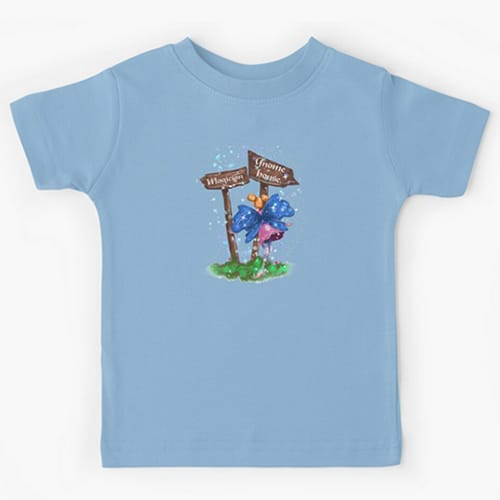 lilli fairy kid tshirt