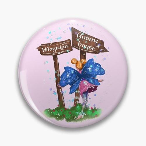 lilli fairy pin