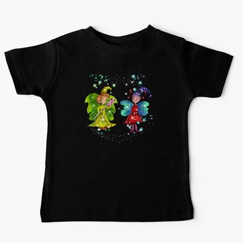 mini snap baby tshirt