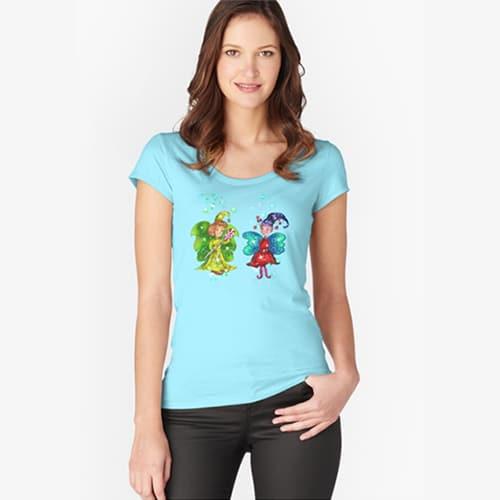 mini snap tshirt