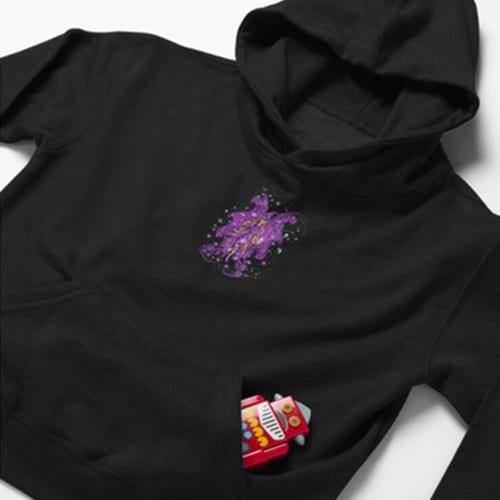 ms spooktacular kid hoodie