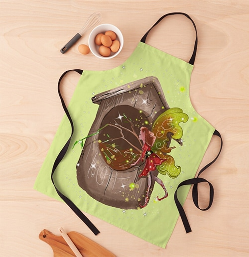 nestie shimmer apron