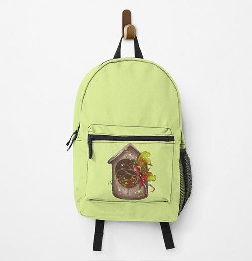 nestie shimmer backpack