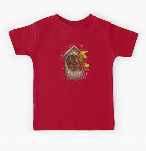 nestie shimmer kid tshirt