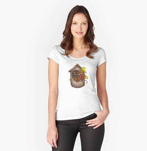 nestie shimmer tshirt