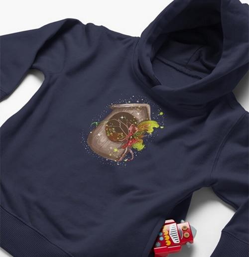 nestie shimmer baby hoodie