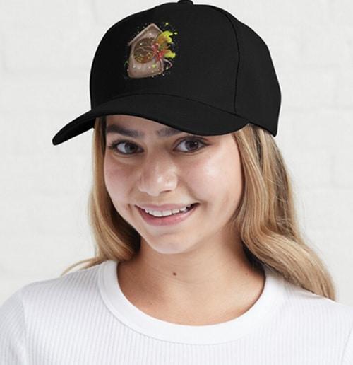nestie shimmer cap