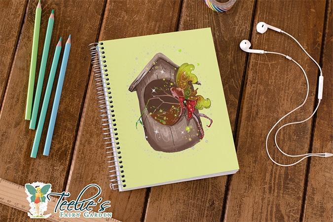 nestie shimmer the birdhouses and nests fairy slider (2)
