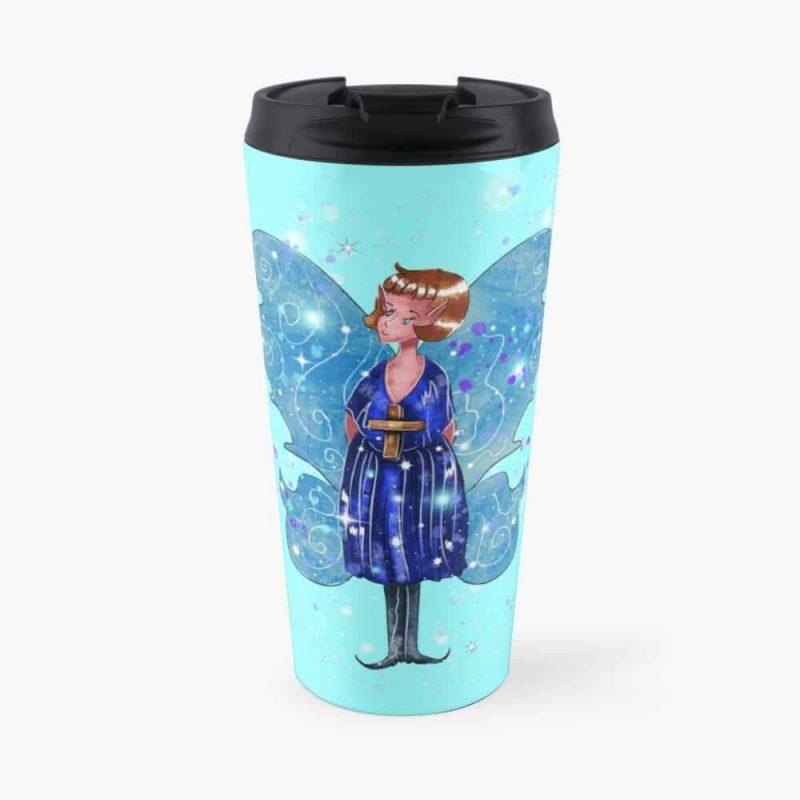 Alleta The Angel Fairy™ Travel Mug