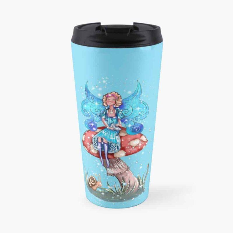 Blossom The Summer Spring Fairy™ Travel Mug