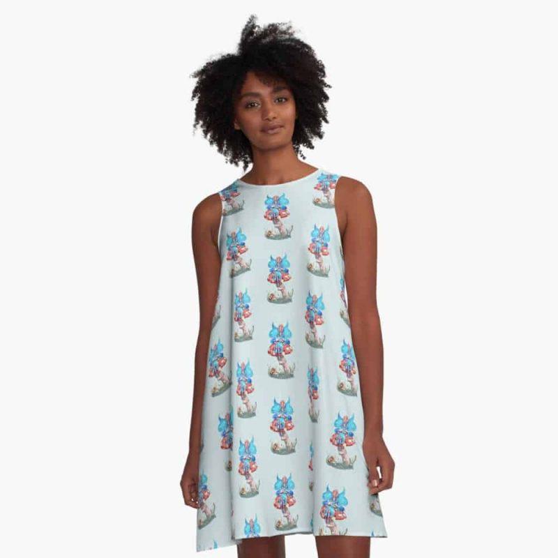 Blossom The Summer Spring Fairy A Line Dress
