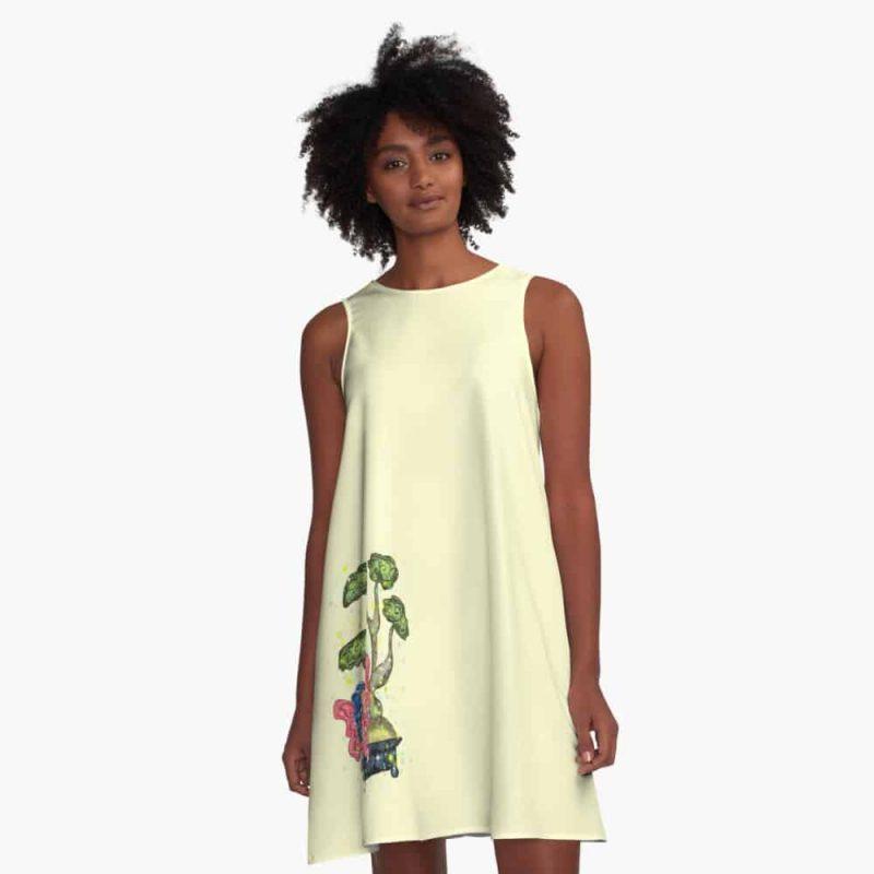 Busana The Bonsai Fairy™ A Line Dress