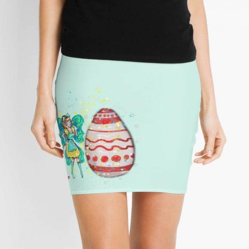 Eloiny The Easter Fairy™ Mini Skirt