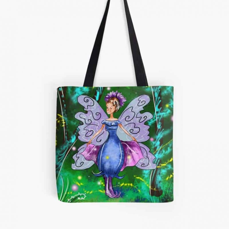Esme The Enchanted Forest Fairy™ Tote Bag