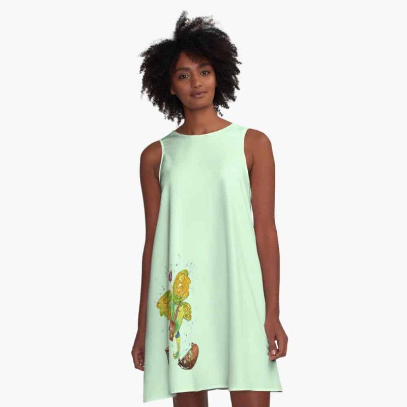 Fala The Furniture Fairy™ A Line Dress