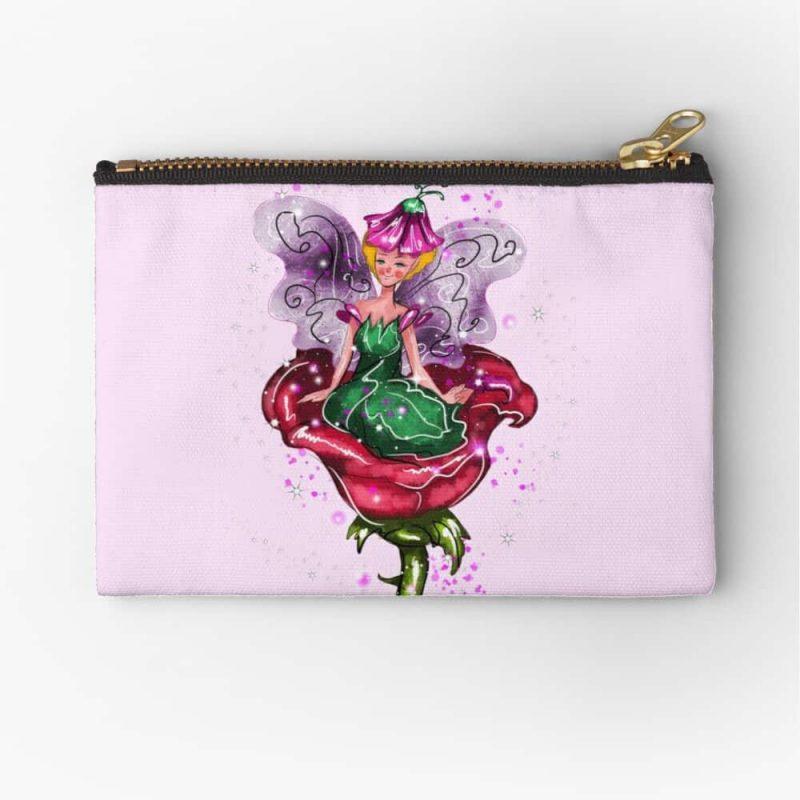 Felicitae The Flower Fairy™ Zipper Pouch