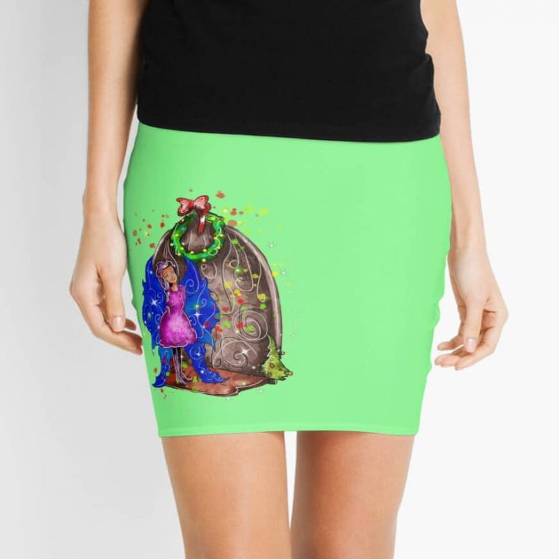 Hollydays Shimmer The Seasonal Door Fairy™ Mini Skirt