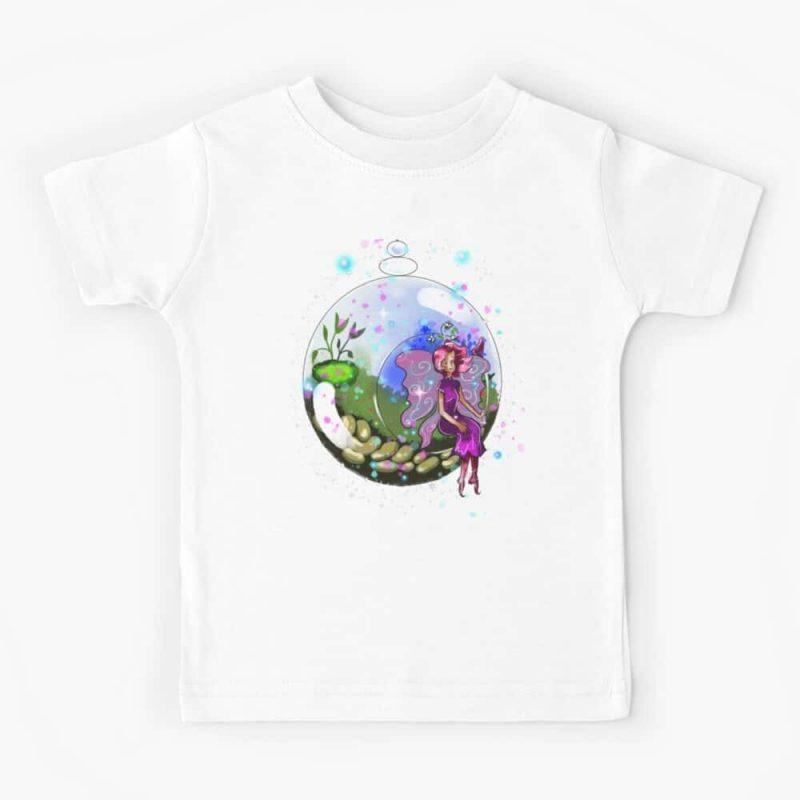 Idalis The Indoor Gardening Fairy™ Kids T Shirt