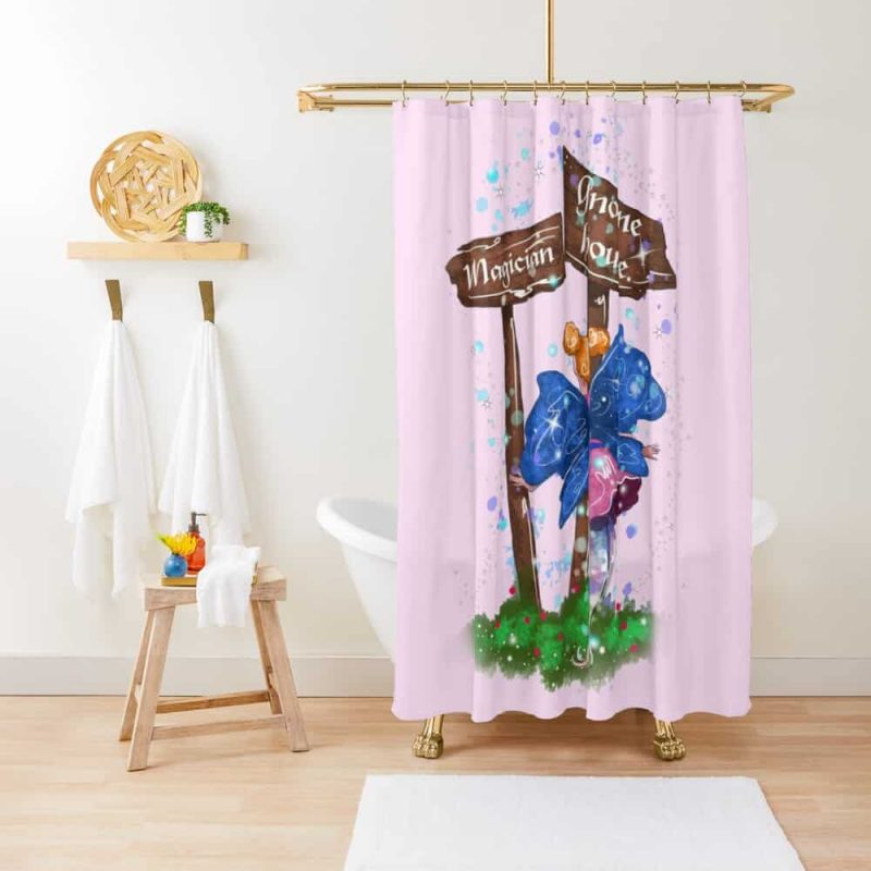 Lilli The Lights And Sign Fairy™ Shower Curtain