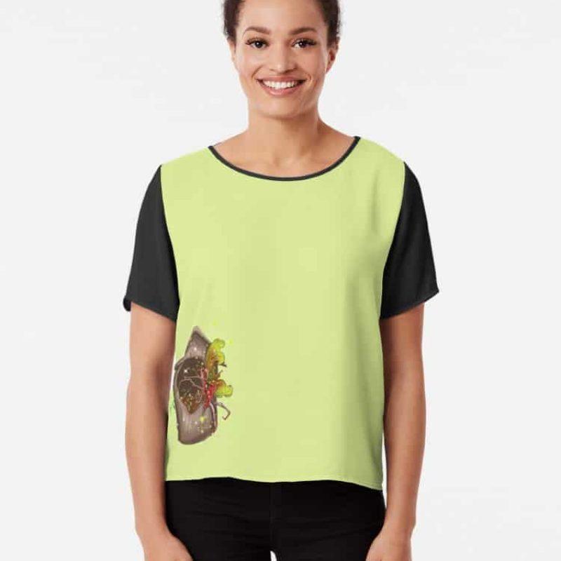 Nestie Shimmer The Birdhouses Nests Fairy™ Chiffon Top