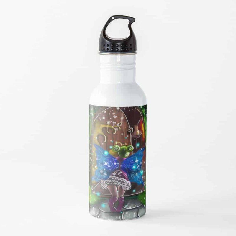 Opiniathe Fairy House Open Door Fairy™ Water Bottle