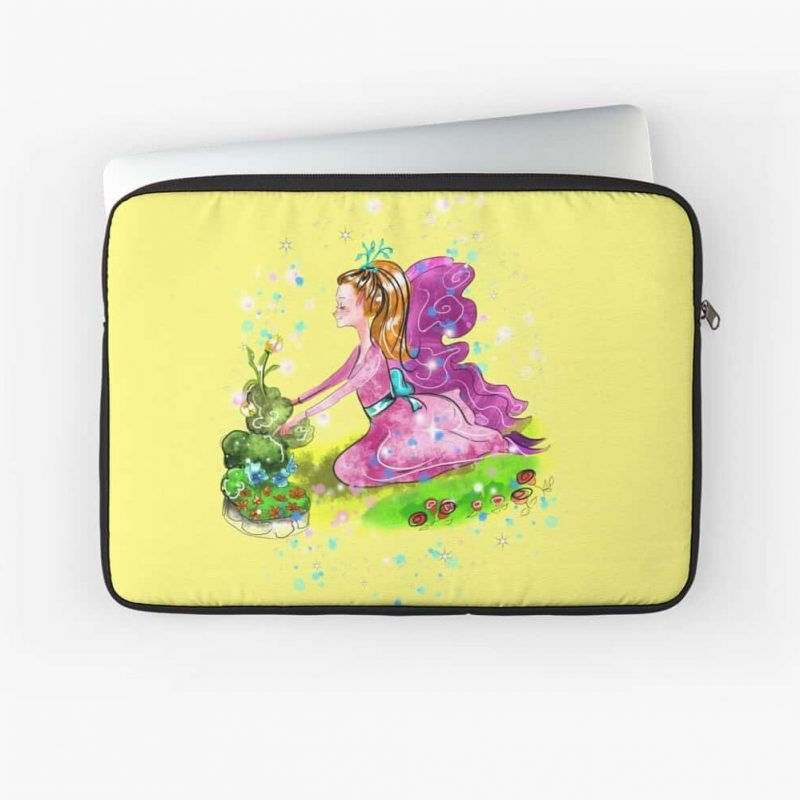 Qiana The Outdoor Gardening Fairy™ Laptop Sleeve