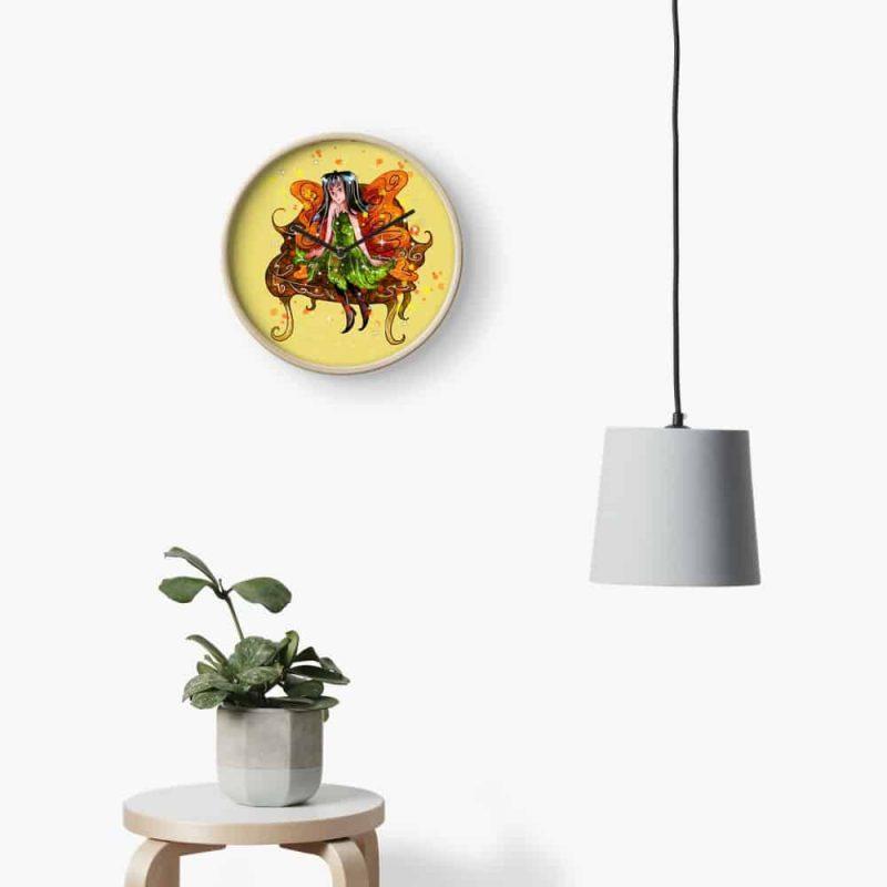 Rusini The Rustic Fairy™ Clock