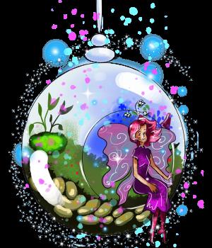 sparkle fairy idalis indoor garden fairy