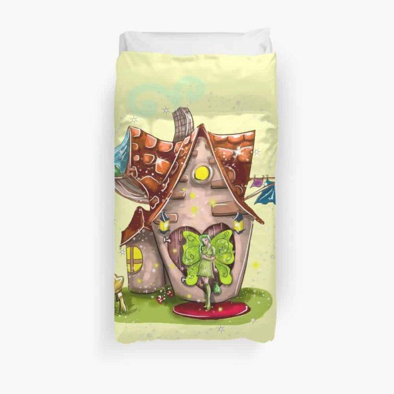 Suzette The Solar House Fairy™ Duvet Cover