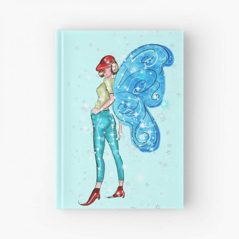 Tina The Tailgate Party Fairy™ Hardcover Journal
