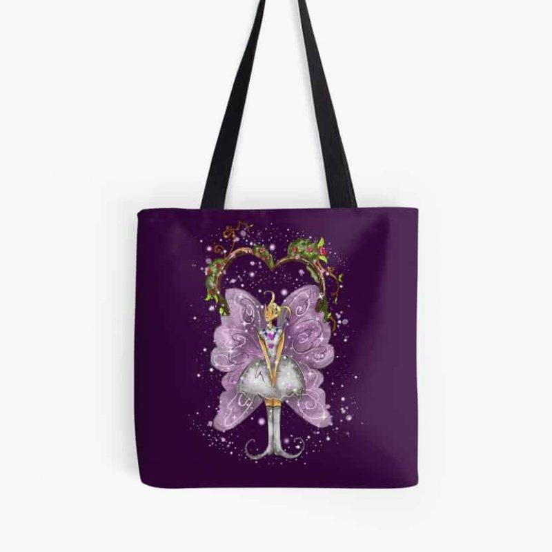 Trixy The Trellis Fairy™ Tote Bag