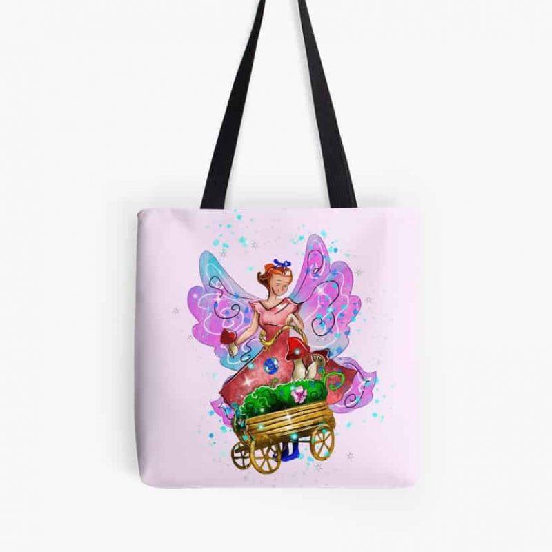 Wagonia The Wheelbarrows And Wagons Fairy™ Tote Bag