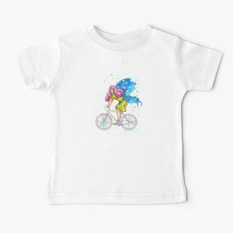 Waneta The Transportation Fairy™ Baby T Shirt