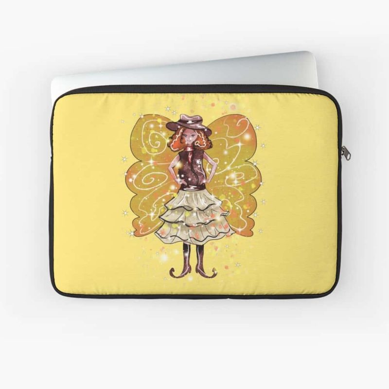 Willie Snap The Wild West Fairy™ Laptop Sleeve